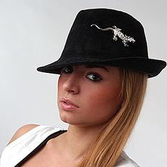 Wear Brooch on Hat or Beret (lots of other suggestions for how to wear brooches).