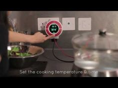 An affordable of Sous Vide Timer that you can plug in your rice or slow cooker to it.