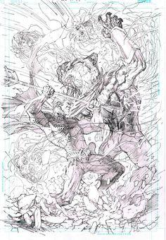 Aquaman by Jim Lee @Gina Gab Solórzano Gab Solórzano de Villiers Leavel