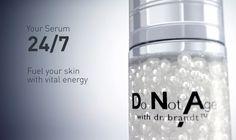 Do Not Age, transforming pearl serum - Dr brandt, USA. Technologie DuoPearl™ de Capsum