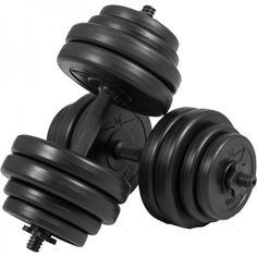 Gorilla Sports: Dumbellset 30 kg Kunststof (25 mm)