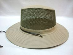 Mesh Vented Bucket Golf Safari Bush Fishing Wide Brim Sun Hat Cap #Simplicity #Bucket