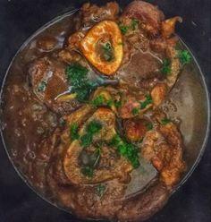Milánói lyukas csont -- Ossibuchi alla milanese Milanesa, Food And Drink, Beef, Meat, Ox, Ground Beef, Steak