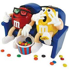 """M&M """"At The Movies"""" Candy Dispenser - Limited Edition Col..."""