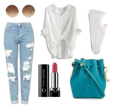 """""""Mall Madness"""" by ashleyk0214 on Polyvore featuring Topshop, Victoria Beckham, Marc Jacobs, Sophie Hulme and Chicwish"""