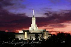 Mount Timpanogos, Utah Temple of The Church of Jesus Christ of Latter-day Saints