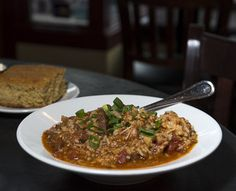 Miss Delta (southern, cajun/creole, soul food) - happy hour 4-6 daily and 10-close fri and sat  http://missdeltapdx.net/delta/wp-content/uploads/2014/03/MD-HH-menu.pdf