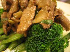 Chinese Stir-Fried Flank Steak by Crepes of Wrath