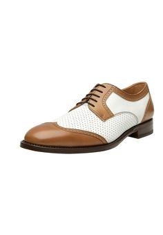 SHOEPASSION Schnürer - braun / weiß - Zalando.at Men Dress, Dress Shoes, Oxford Shoes, Lace Up, Fashion, Get Tan, Moda, Fashion Styles, Fashion Illustrations
