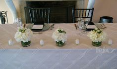 0012 #sweethearttable #triasflowers #weddings #events #flowers #elegant #miami www.triasevents.com