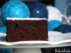 Bake&Taste: Kladdkaka - szwedzkie ciasto czekoladowe