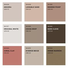 Colour Trends for 2020 What colours will we be seeing next year? See Sherwin Williams predicted colour trends for Plus sneak peek at the moodboard for S/Y Lazy Kingfisher. Bedroom Paint Colors, Interior Paint Colors, Paint Colors For Home, House Colors, Warm Paint Colors, Tuscan Paint Colors, Rustic Paint Colors, Interior Design, Luxury Interior