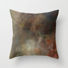 interred in midsummer light Throw Pillow