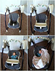 Getz Blogging: DIY Baby Swing Seat Cover