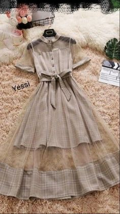 Cute Casual Outfits, Pretty Outfits, Pretty Dresses, Sexy Dresses, Beautiful Dresses, Vintage Dresses, Women's Casual, Dress Casual, Awesome Dresses