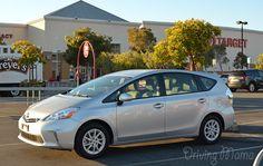 2014 Toyota Prius v Family Hybrid Review