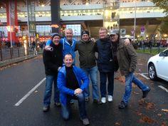 At the Bayer 04 Leverkusen v FC Schalke 04 game on the Dusseldorf trip 2014 Friday, Game, Bayer 04 Leverkusen, Gaming, Toy, Games