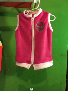 Paw patrol skye vest costume add mask by mothergoosedesigns