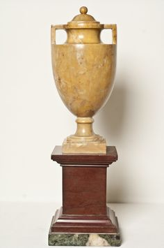 Neoclassical Sienna Marble Urn from www.craigcarrington.com