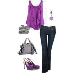dc36e73c6c9 First Date Purple Jeans