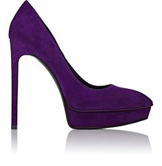 Saint Laurent Janis Platform Pumps at Barneys New York