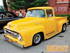 Classic Yellow Truck