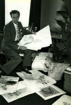 Cecil Beaton sketches
