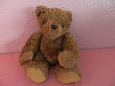 """Dex Heartbeat & Womb Sounds Teddy Bear Baby Infant Stuffed Plush Animal 14"""" #DEXProducts"""
