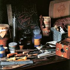 Tools of the masters #Art #Design #Fortuny