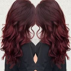 Trendy Fall Hair Colors: Your Best Autumn Hair Color Guide Hair Color dark red hair color Fall Hair Colors, Cool Hair Color, Fall Red Hair, Deep Red Hair Color, Red Hair Dye For Dark Hair, Spring Hair Colour, Dark Res Hair, Res Hair Color, Red Hair For Brunettes