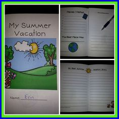 I am going to do this for back to school and start my Mark Teague author study too. This is  a cute little booklet that goes with the book How I Spent My Summer Vacation.  Cute unit!  https://www.teacherspayteachers.com/Product/How-I-Spent-My-Summer-Vacation-Mini-Book-Study-and-Writing-Activities-1370862