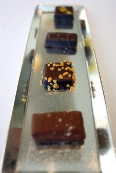 Chocolate Platter at Jean Georges New York. Jean Georges, Market Displays, Platter, Panna Cotta, Good Food, York, Chocolate, Eat, Breakfast