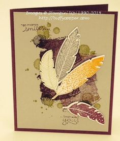 #FourFeathers bundle from #StampinUp