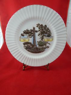Vintage Collector Plate Taylor and Kent England by AlwaysPlanBVintage on Etsy