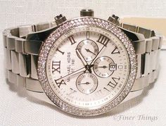 Michael Kors Layton Uptown Glam Glitz Crystal Chrono Women