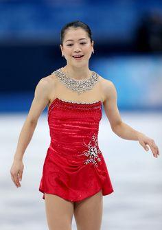 Akiko Suzuki Photos: Winter Olympics: Figure Skating
