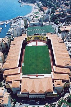 Stade Louis II; Fontvieille, Monaco -- AS Monaco.