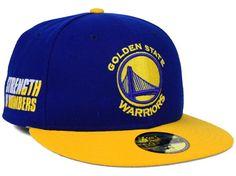Golden State Warriors New Era NBA Side Hit 59FIFTY Cap Hats