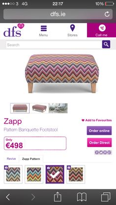 Footstool Dfs, Pattern, House, Furniture, Home, Haus, Model, Patterns, Houses