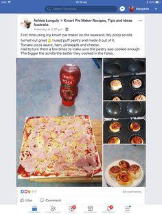 Mini Pie Recipes, Easy Recipes, Dinner Recipes, Cooking Recipes, Sunbeam Pie Maker, My Pie, Mini Pies, Easy Meal Prep, Savory Snacks