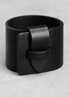Leather cuff | Leather cuff | & Other Stories