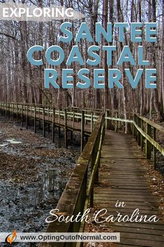 If you have the opportunity to travel to South Carolina, don't miss the Santee Coastal Reserve. This is a beautiful area for hiking and exploring the marshland. We share our unique and off the beaten path things to do in South Carolina. You can camp for free here for 4 days. You'll definitely put this on your top bucket list destination areas! #travel #rvlife #camping #freecamping #traveltips #southcarolina