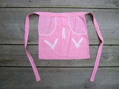 Retro Vintage Clothespins Apron from Willow Moon Vintage