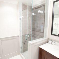 Small bathroom shower idea Danell