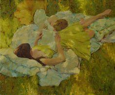Summer Yellows,  By David P. Hettinger Always fun working with models. http://davidhettinger.com/