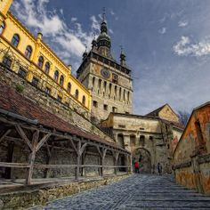 Sighisoara, Transylvania, Romania. The birthplace of Vlad Tepes (aka. Vlad the Impaler and Dracula)  Yeeeess please!!