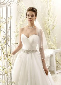 77966 - Eddy K - Princess Gown Dress - Tulle and Crystals - Vestidus