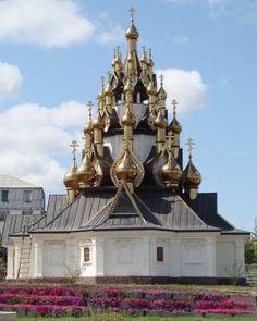 Храм в Усть-Медведицком монастыре