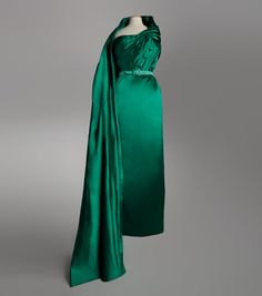 Jacques Fath evening dress, 1951 From the Musée Galliera via Bal...