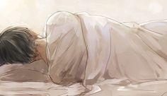 Levi sleeping | By のりた